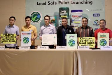 Press Conference for Lead Safe Paint certification