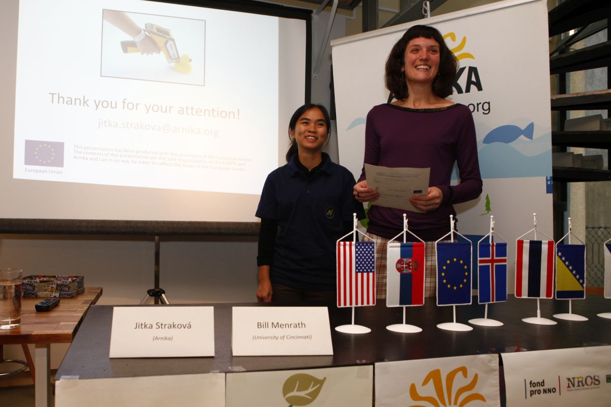 Autthaporn Ritthichat and Jitka Strakova presented at the conference