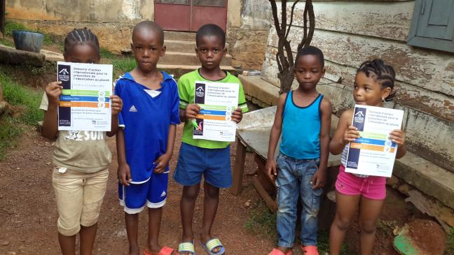 Children in Cameroon sensitized about lead poisoning