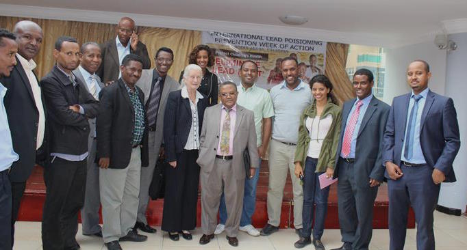 2015 Lead Poisoning Prevention Week of Action in Ethiopia