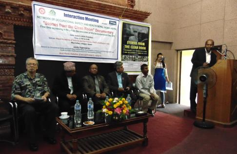 Inagural remarks by the Director General, Deptartment of Environment, Nepal