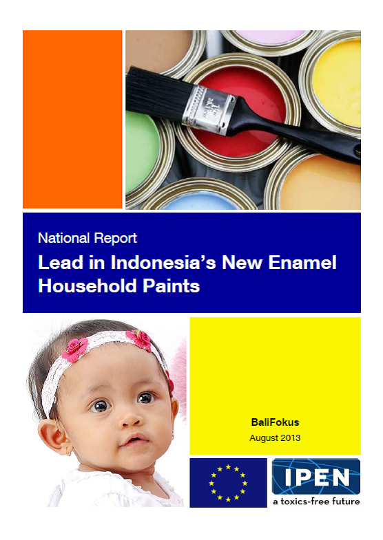 Indonesia Lead Paint Report Cover