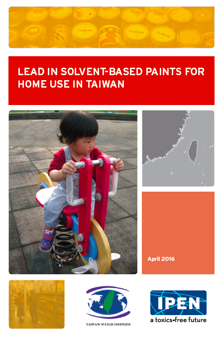 Lead in Solvent-Based Paints for Home Use in Taiwan cover