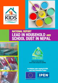 Nepal lead in dust cover