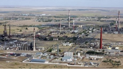 Pavlodar Petrochemical cluster (Photo by Tengrinews)