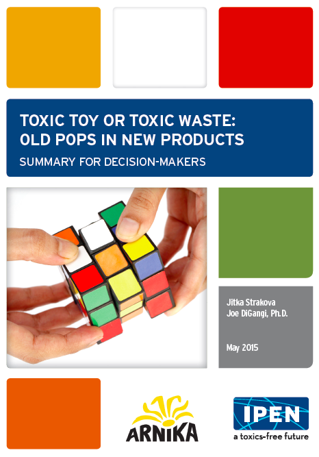 Toxic Toy or Toxic Waste summary cover