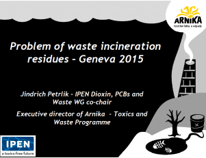 Jindrich Petrlik Problem of Waste Incineration PPT