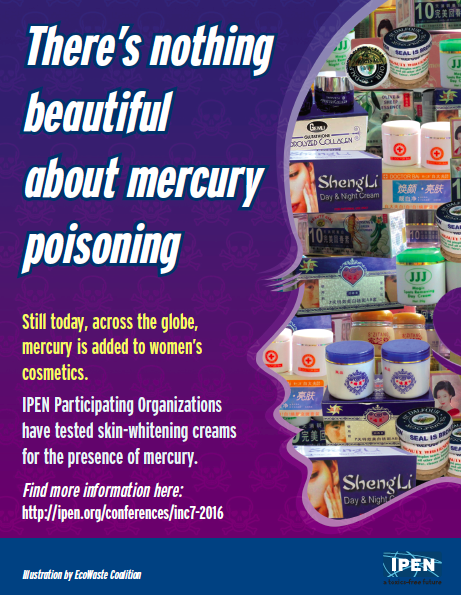 There's Nothing Beautiful about Mercury Poisoning