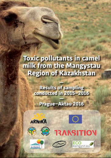 Arnika and EcoMuseum report about pollutants in camel milk