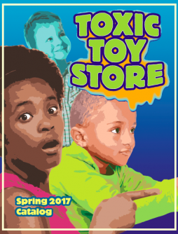Toxic Toy store catalog cover