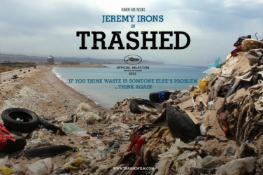 Trashed film advert
