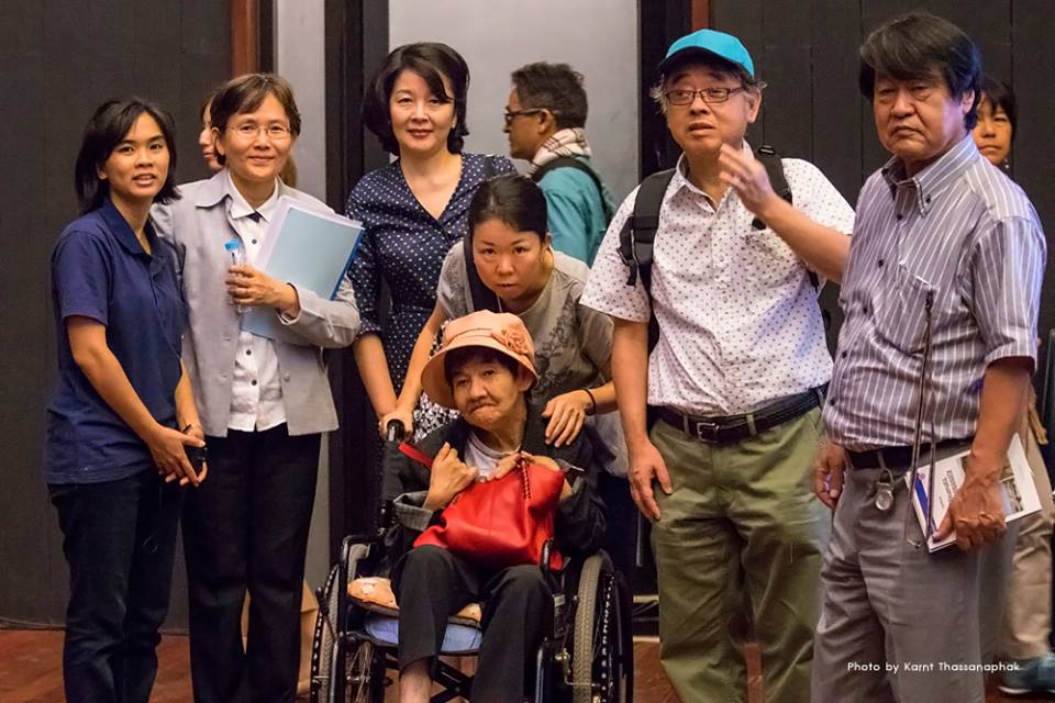 Shinobu Sakamoto, Penchom Saetang, Autthaporn Ritthichat and others in Thailand