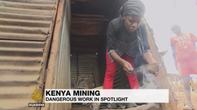 Al Jazeera news coverage Migori Mining