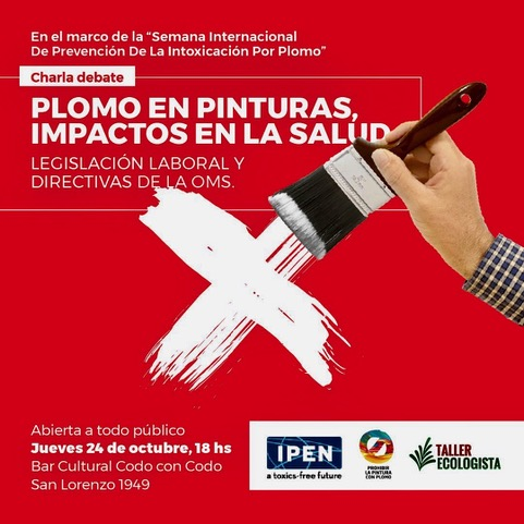 Taller Ecologista in Argentina shared a new report on lead in paint