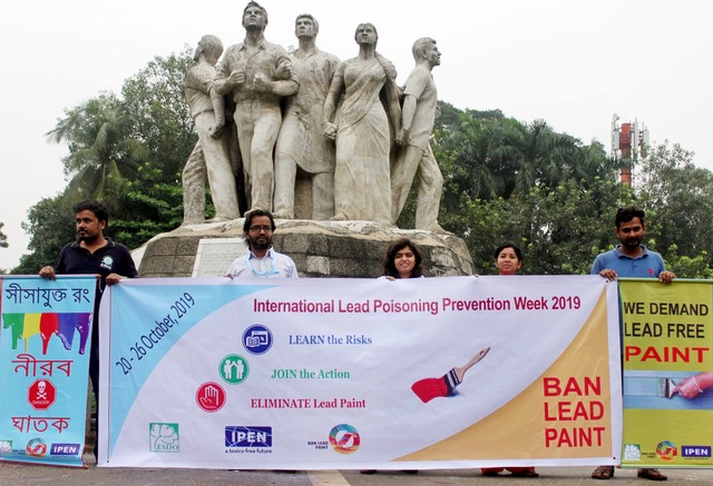 ESDO in Bangladesh called for a total ban on lead in paint