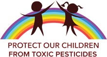 Protect our children from toxic pesticides logo