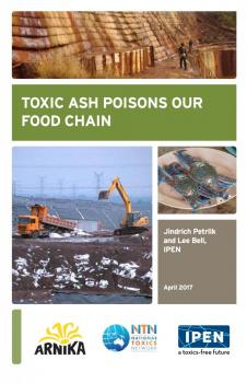 Cover of booklet: Toxic Ash Poisons Our Food Chain