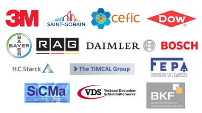 Examples of the client list of BiPRO, the industry consultancy hired by the EU to guide the evaluation process. Note that 3M, Saint-Gobain, and the member companies of CEFIC make and/or use fluorinated substances including PFOA.
