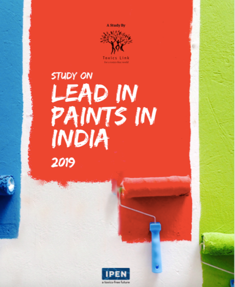 Toxics Link in India found all studied paint samples contained lead levels higher than the limit