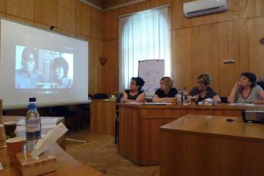 Screening at AWHHE in Armenia