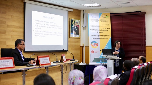 AMSETox in Morocco held a workshop to raise awareness of the dangers of lead in paint