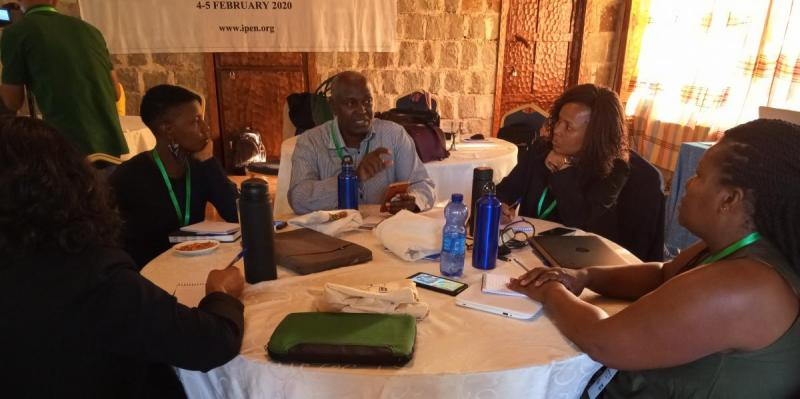 Group discussion at the Anglophone Africa Regional Meeting in February 2020