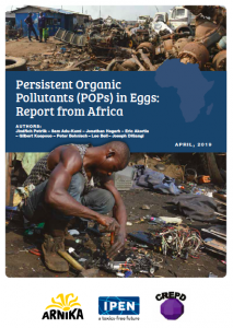 POPs in Eggs Report for Africa cover