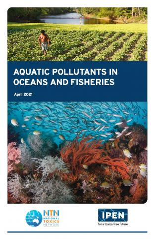 Cover of Aquatic Pollutants in Oceans and Fisheries