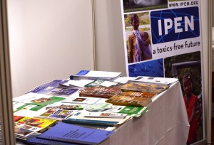 IPEN's booth at ExCOP