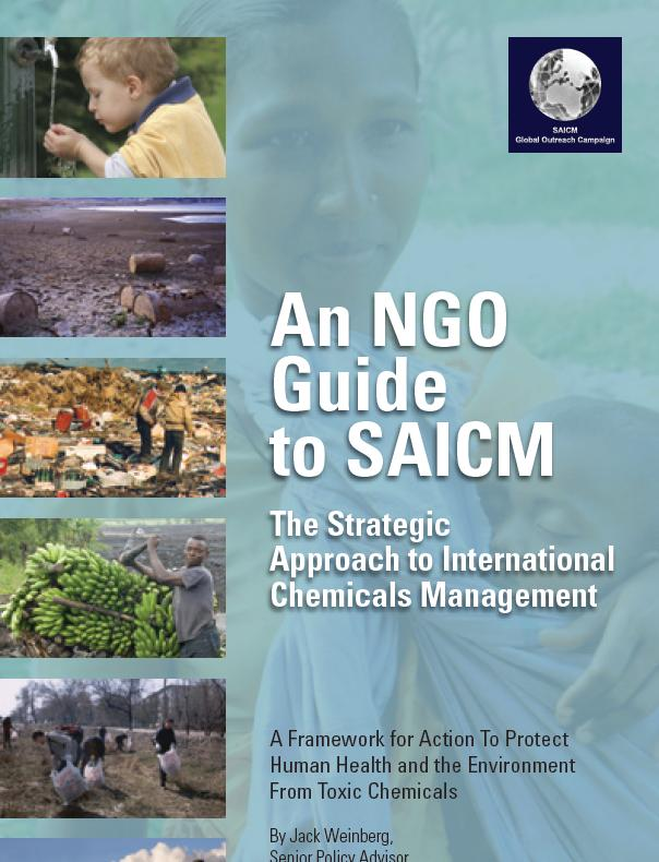NGO Guide to SAICM cover